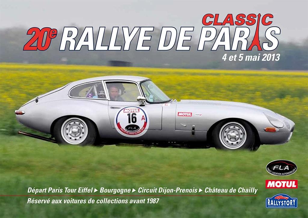 20<sup>e</sup> Rallye de Paris Classic