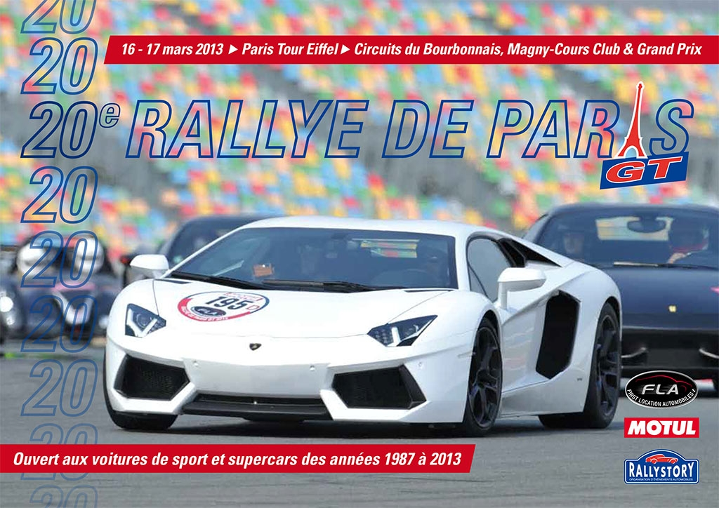 20<sup>e</sup> Rallye de Paris GT