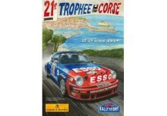 Trophée en Corse