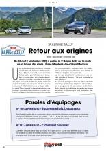 Rétro Course - Alpine Rallye 2020