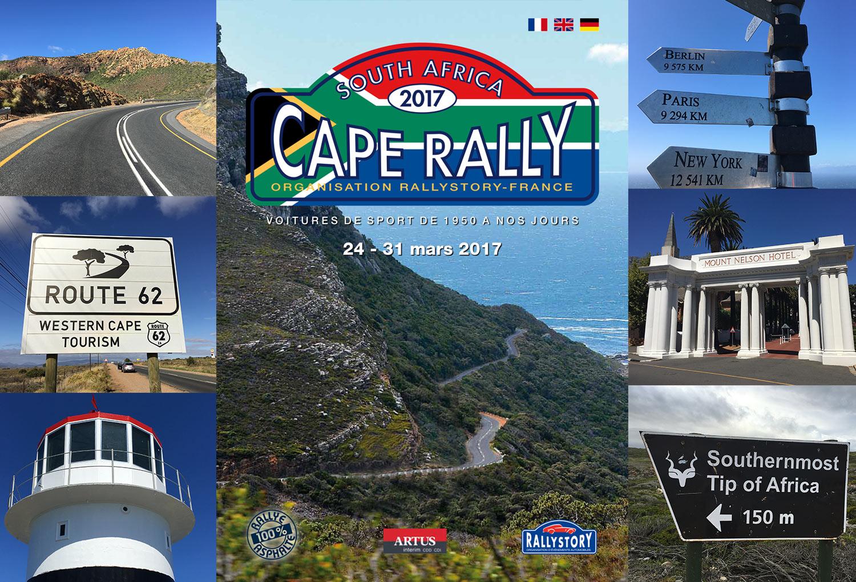 Départ Cape Rally 2017